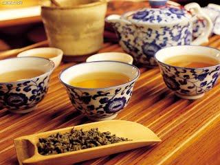ประเพณีดื่มชาของชาวจีน