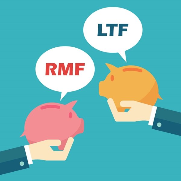 กองทุนรวมหุ้นระยะยาว (LTF) กองทุนรวมเพื่อการเลี้ยงชีพ (RMF) เพื่อลดหย่อนภาษี